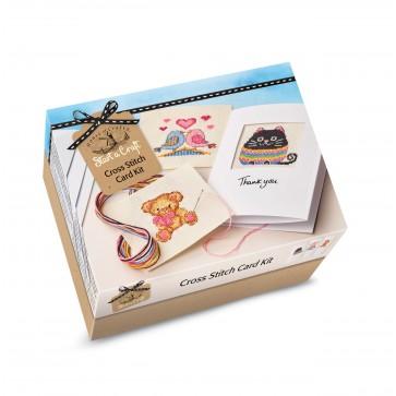 Start a Craft - Cross Stitch Card Kit