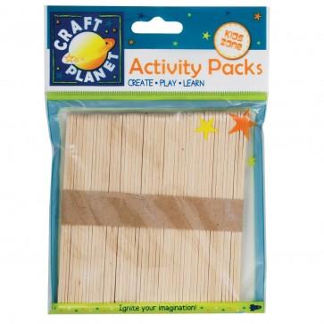 Lollipop Sticks (approx. 50pcs) - Natural