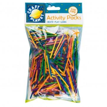 Matchsticks (approx. 500pcs, 50g) - Assorted Colours