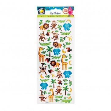Fun Stickers - In The Zoo