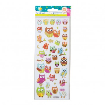 Fun Stickers - Owls