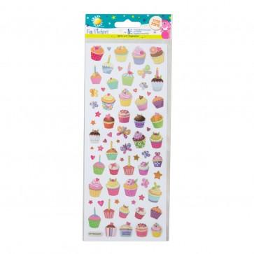 Fun Stickers - Cupcakes