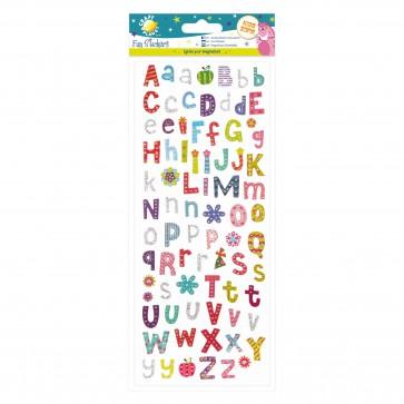Fun Stickers - Funky Alphabet