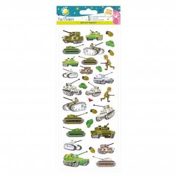 Fun Stickers - Army
