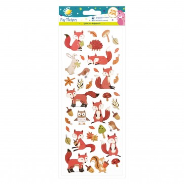 Fun Stickers - Woodland Creatures