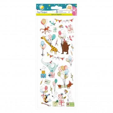 Fun Stickers - Birthday Animals