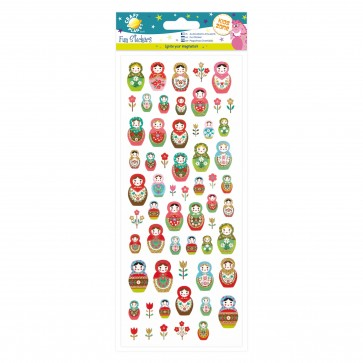 Fun Stickers - Russian Dolls