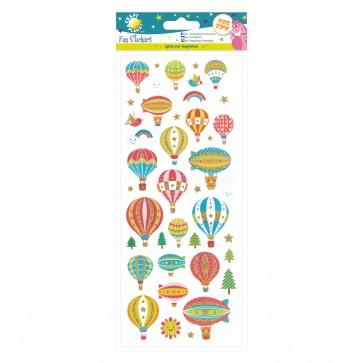 Fun Stickers - Hot Air Balloons