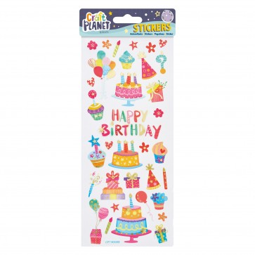 Fun Stickers - Happy Birthday