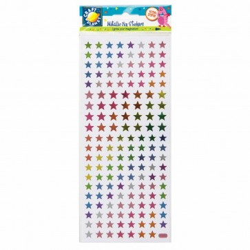 Stickers Metallic - Star Burst