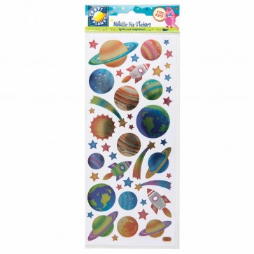 Stickers Metallic - Outer Space