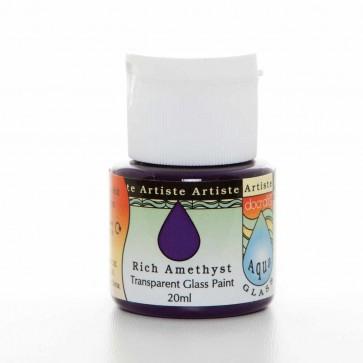 Glass Paint (20ml) - Aquaglass - Rich Amethyst