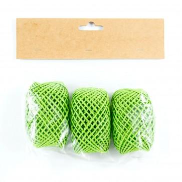 Paper String Balls 30m Green