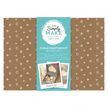 Chalk Painting Kit - Simply Make - Wooden Box