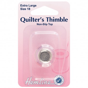 Quilters Thimble: Premium Quality - Extra Large