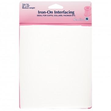 Iron-On Interfacing: Medium - 1m x 1m