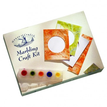 Mini Marbling Craft Kit