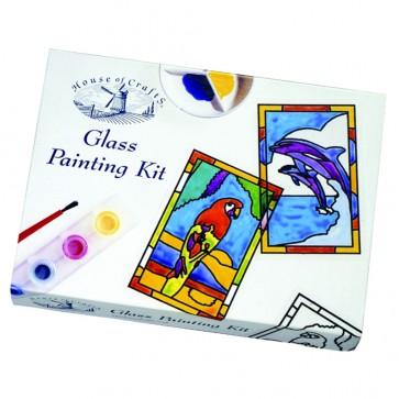 Mini Glass Painting Kit