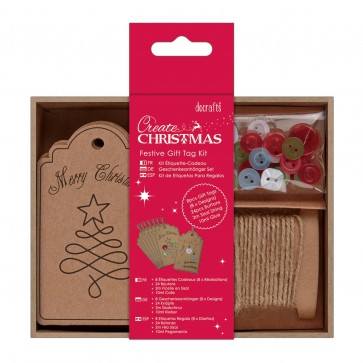 Festive Gift Tag Kit (8pk)