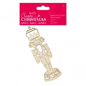 Make Your Own Decoration - Nutcracker - Create Christmas