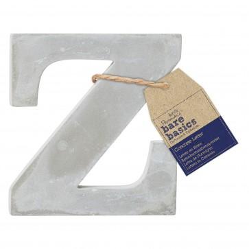 Concrete Letter (1pc) - Bare Basics - Z
