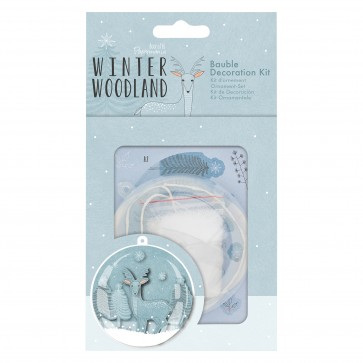 Bauble Decoration Kit - Winter Woodland