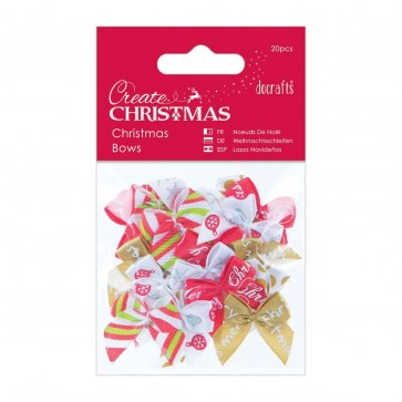 Christmas Bows (20pcs)