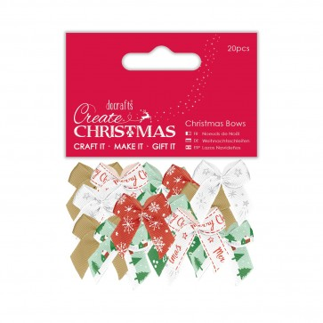 Christmas Bows (20pcs)