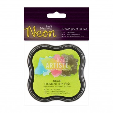 Neon Pigment Ink Pad - Yellow