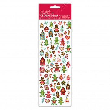 Christmas Stickers - Gingerbread