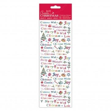 Christmas Stickers - Christmas Wishes