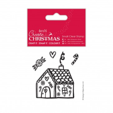 Small Clear Stamps - Gingerbread House