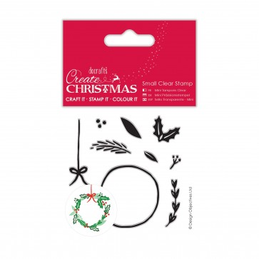 Small Clear Stamps - Build Your Own Wreath