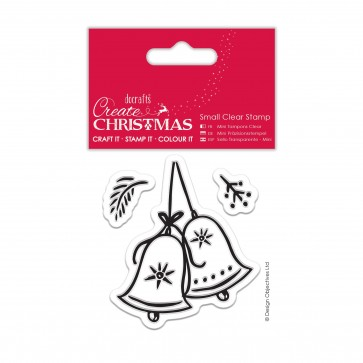 Small Clear Stamps - Christmas Bell