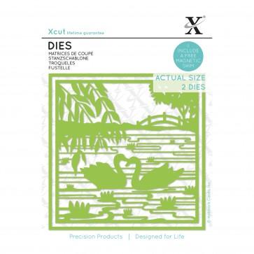 Dies (2pcs) - Oriental Swans