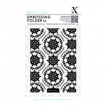 A6 Embossing Folder - Ornate Foliage