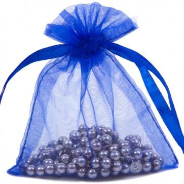 Organza Bag 7X9cm (10 Pack) Royal Bl