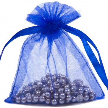 Organza Bag 10X15cm (10 Pack) Royal