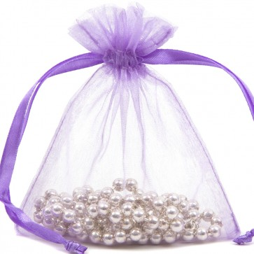 Organza Bag 9X12cm (10 Pack) Lavende