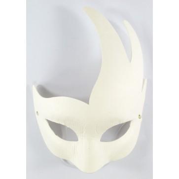 Mask White 18 x 21cm Flare