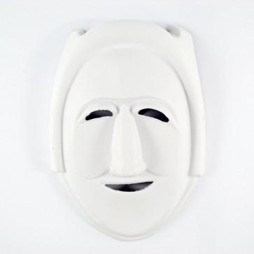 Mask White 17 x 24cm Robot