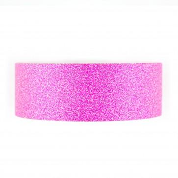 Glitter Tape 8mm X Mtr Pink