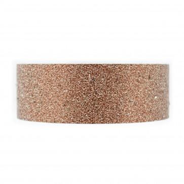 Glitter Tape 30mm X 4 Mtr Brown