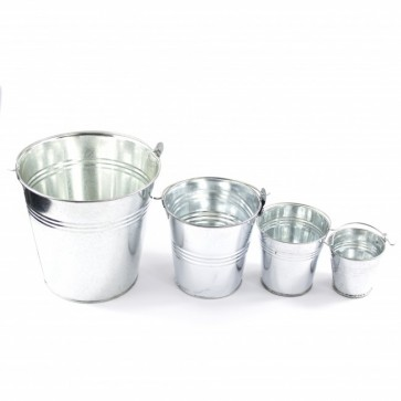 Tin Bucket 7.8 x 8 x 6cm
