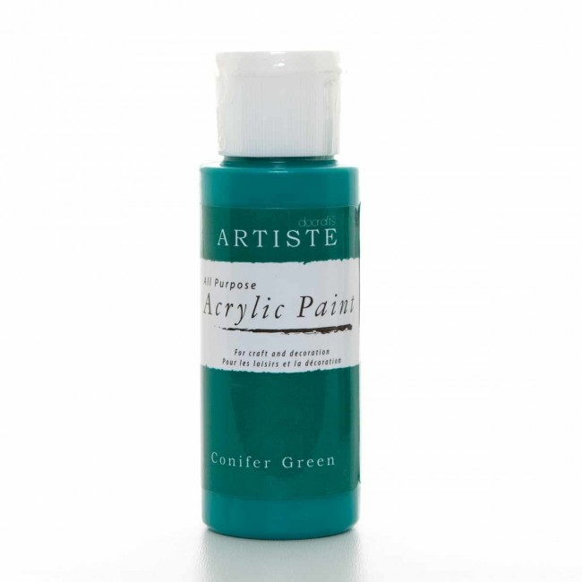 Acrylic paint 2oz conifer green acrylic paint for Acrylic paint in bulk