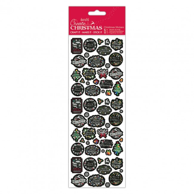 craft supplies uk wholesale stickers chalkboard sentiments 4082