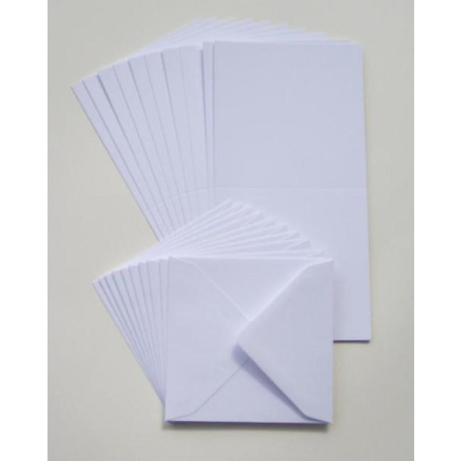 6x6 Quot Cards Amp Envelopes White 50 Pack 6 Quot X 6 Quot Card