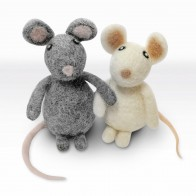 Needle Felting Kit (2pk) - Simply Make - Mice