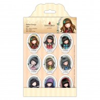 Mini Character Rubber Stamps - Santoro