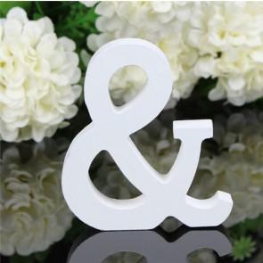 Wood Letter 11cm White &